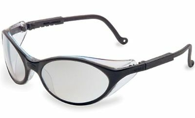 Uvex Bandit Safety Glasses With Black Frame And Reflect 50 Lens