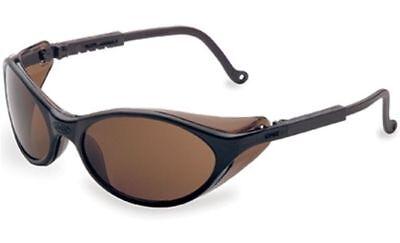 Uvex Bandit Safety Glasses With Black Frame And Espresso Lens