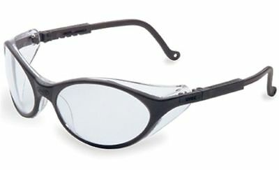 Uvex Bandit Safety Glasses With Black Frame And Clear Lens