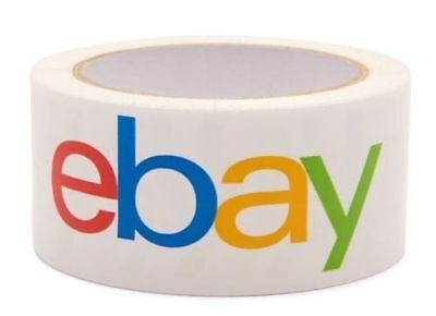 Ebay Branded Bopp Packaging Tape - Shipping Supplies 75 Yards - 2 Wide