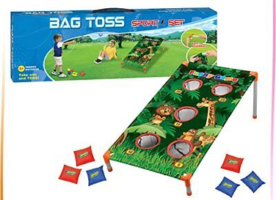 -  Zoo Animal Bean Bag Toss Carnival Game Jungle Party Games