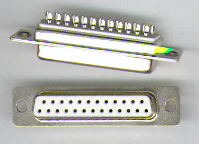10  X SUB D-BUCHSE  25 POLIG  ( LÖTKELCH) NEU