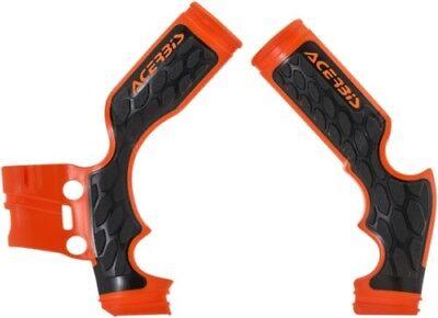 Acerbis X-Grip Frame Guards Orange/Black KTM 65 SX 2014-2018 2688765225 73-2048 for sale  Shipping to Canada