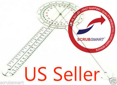 Us Seller Free Fast Shipping - Brand New Goniometer 12 Inch 12 Physical Therapy