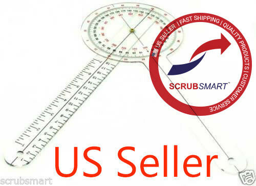 """US seller FREE FAST SHIPPING - Brand New Goniometer 12 inch 12"""" Physical Therapy"""