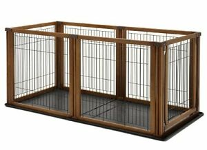 Convertible Elite Pet Gate, 6-Panel