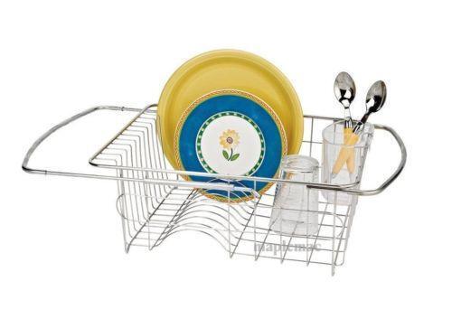 Sink Dish Drainer Kitchen Storage Amp Organization Ebay