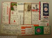 Baseball Ticket Stubs