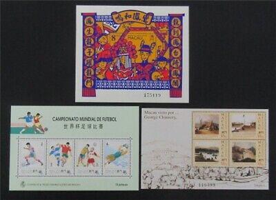 nystamps Macao Stamp # 697//734a Mint OG NH $41   L23y3374