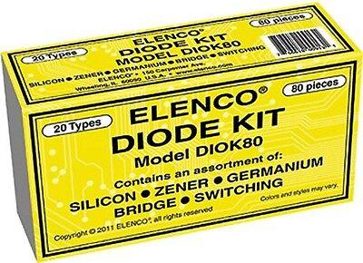Elenco Diok80 Diode 80 Piece Kit