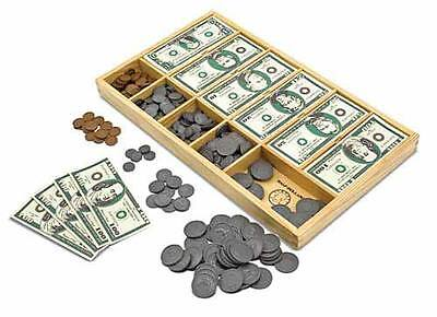 Melissa & Doug Play Money Set #1273 BRAND NEW