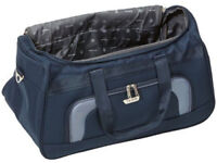 Brand New Travelite Travel Duffle Orlando Duffle 58cm 50 Litres Black Grey Bag