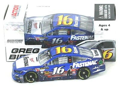 16 Greg Biffle 2013 Fastenal American Salute   Heros Hired Here 1 64 Ford