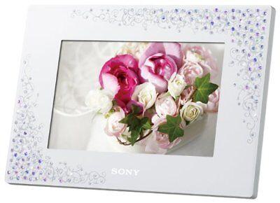 SONY Digital Photo Frame 2GB 7 inch Crystal & White DPF-D720/WI Japan Limited