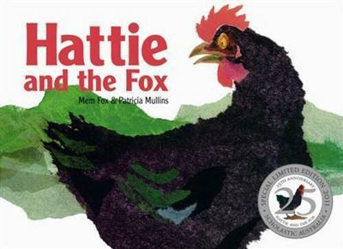 NEW Hattie and the Fox By Mem Fox Board Book Free Shipping