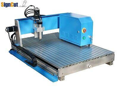 Redsail 800w Mini Desktop Cnc Router Engraving Drilling Machine W Handle 6090