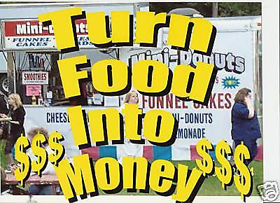 How You Can Make Money Sell Food Truck Concession Trailer Vending Business Fast