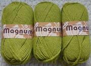Green Chunky Wool