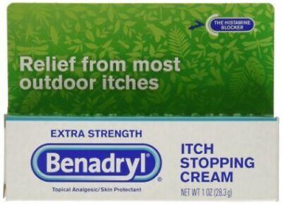 Benadryl Extra Strength Itch stopping Cream 1.oz  28g  UK Seller