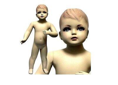 Mn-034 Standing Toddler Baby Fleshtone Mannequin 2 5