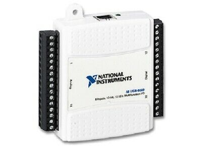 New - National Instruments Usb-6008 Data Acquisition Card Ni Daq Multifunction