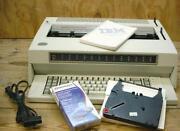 IBM Electronic Typewriter