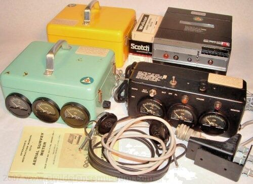 CD V-781 Aerial Survey Meter, Model No. 1