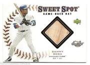 Sammy Sosa Game Used Bat