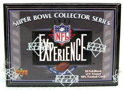 1993-Upper-Deck-Super-Bowl-Collector-Series-NFL-Experience-Football-Set-of-50