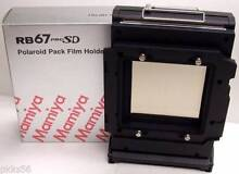 Mamiya RB PRO-SD POLAROID FILM HOLDER / FILM BACK Rose Bay Eastern Suburbs Preview