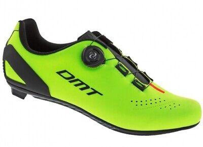 DMT D5 Herren Fahrradschuhe Gr.46 Yellow Fluo Black Orange