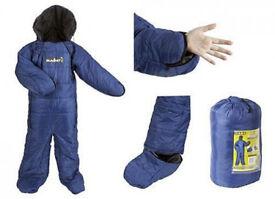 Summit Motion Sac Camping Sleeping Bag - Size Medium in Blue