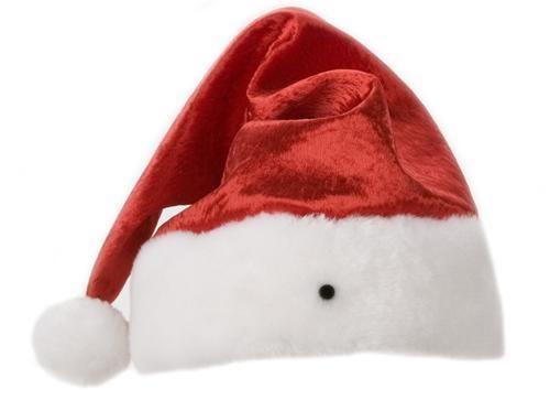 60f87040ce9495 Plush Santa Hat | eBay
