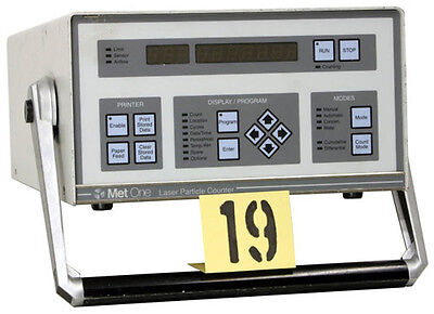 Met One A2408-1-115-1 Portable Airborne Particle Counter Tag 19