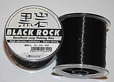 Robinson Black Rock Carp Line 0,33mm 20kg 600m monofile Karpfenschnur