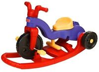 Fisher price rock, roll and ride tricycle