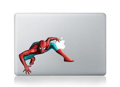 "Spider Man Marvel Sticker Decal Vinyl Cover Macbook Air & Pro & Retina 13""15""17"""