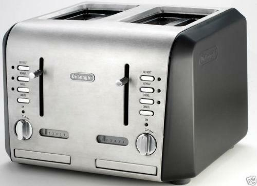 Delonghi 4 Slice Toaster Ebay
