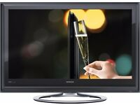 "Ultra Slim Hitachi 32"" inch LCD Full HD 1080p TV with Freeview Built in HDMI, not 37 40 28"