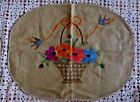 Embroidered Vintage/Retro Decorative Cushion Covers