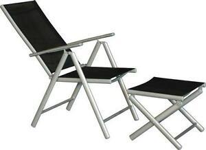 4er set alu gartenstuhl klappstuhl hochlehner campingstuhl aluminium liegestuhl mwd. Black Bedroom Furniture Sets. Home Design Ideas