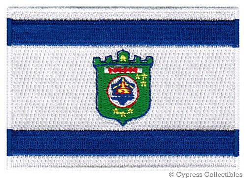 TEL AVIV FLAG embroidered iron-on PATCH ISRAEL CITY new ISRAELI EMBLEM applique