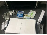 Nintendo wii fit plus with balance board Sports Bundle