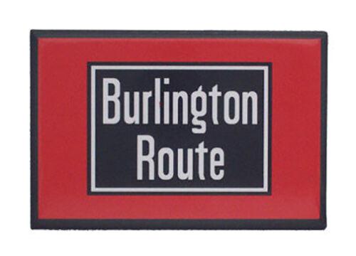 Burlington Route CBQ Railway Railroad Magnet #58-1070