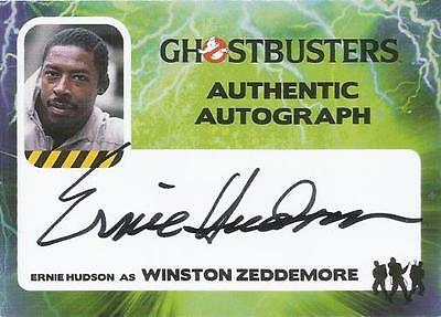 2016 Ghostbusters Autograph Auto Card of Ernie Hudson as Winston Zeddemore