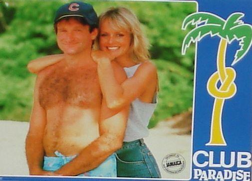CLUB PARADISE - Lobby Cards Set - Harold Ramis, Robin Williams, Twiggy