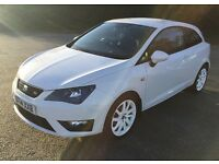Seat Ibiza Sport Coupe 1.2L TSI FR 3dr **Full Seat Service History, ONLY 12,158 miles**