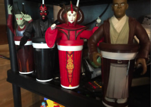 STAR WARS COLLECTOR CUPS 30.00 FOR ALL