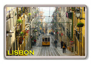 LISBON-PORTUGAL-FRIDGE-MAGNET-SOUVENIR-NEW