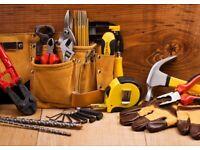 Builder, electrician, plumber, carpenter, tiler
